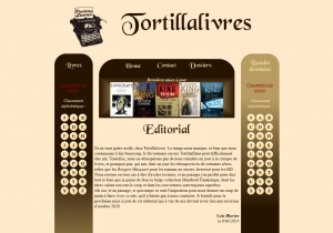 Tortillalivres, version 2 (2010)