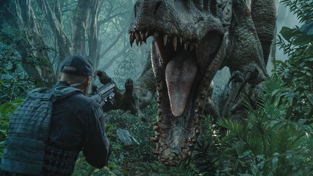 Il paraît que les acteurs se sont plaints de l'haleine du dinosaure pendant le tournage.